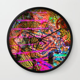 Gimme Distortion Wall Clock