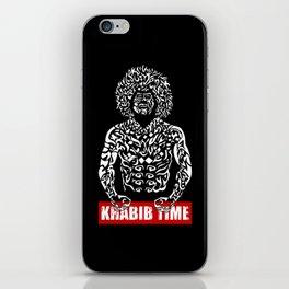 Khabib Angry Time iPhone Skin
