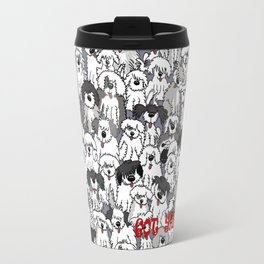 Original Sheepdogs On Watch Travel Mug