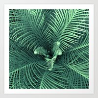fern Art Prints featuring Fern by ravynka