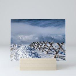 A Road Less Traveled Mini Art Print