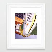 "bond Framed Art Prints featuring ""Bond"" by C A R E Y  M O R T O N"