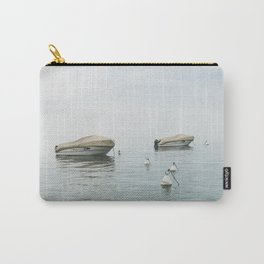 Boats in the lake Carry-All Pouch