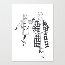 Fashion1953 Canvas Print