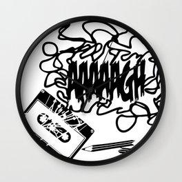 AAAGH Tape - Jam Wall Clock