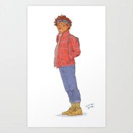 Courf Art Print