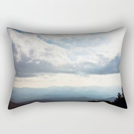 Top of the World Rectangular Pillow