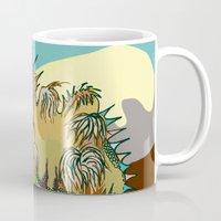 dune Mugs featuring Dune by Maria Paula Quiva