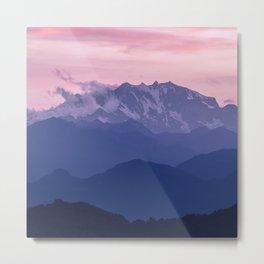 Monte Rosa Metal Print