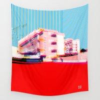 bauhaus Wall Tapestries featuring Bauhaus · Das Bauhaus 6 by Marko Köppe