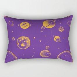 Purple and orange planetary, energy and space rocks! Rectangular Pillow