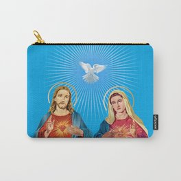 Jesus Christ and the Virgin Mary Carry-All Pouch
