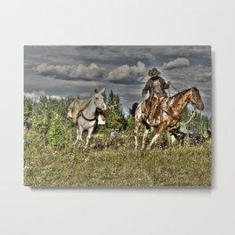 Cowboy Country Metal Print