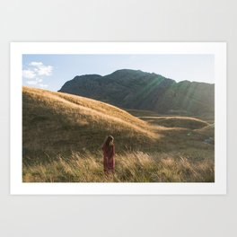 No man's land Art Print