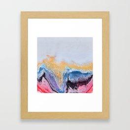 Haut Framed Art Print