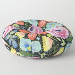 Roses and posies Floor Pillow