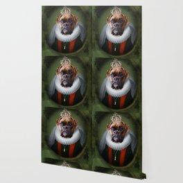 Queen Charlie - Boxer Dog Portrait Wallpaper