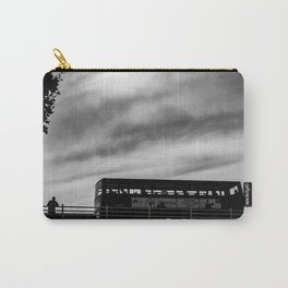 Man & London Bus Carry-All Pouch
