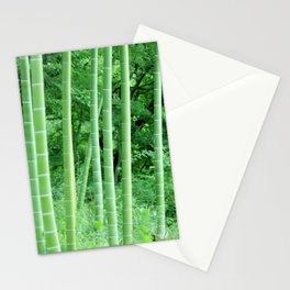 Japanese Bamboo Forest Photography Stationery Cards