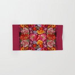 """Rose Huipil Embroidered"" Hand & Bath Towel"