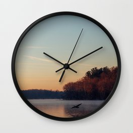 Cleared for Landing Wall Clock