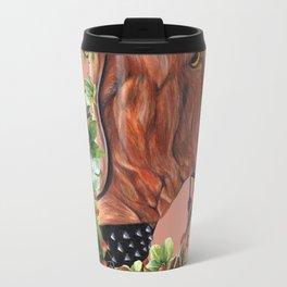 Flower puppy Travel Mug