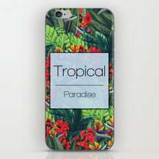 Tropical Paradise iPhone & iPod Skin