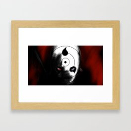 Uchiha Clan Mask Framed Art Print