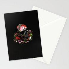 Zhostovo Skull Stationery Cards