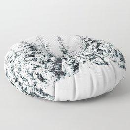 Snow Porn Floor Pillow