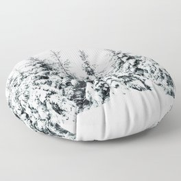 Snow Porn Floor Pillow