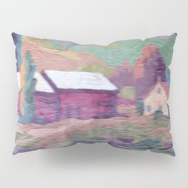 paint by number cottage Pillow Sham