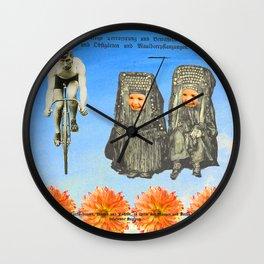PRETTY FLOWERS Wall Clock