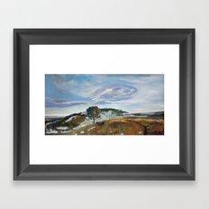 M Hill Framed Art Print