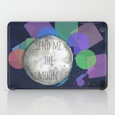 send me the moon iPad Case