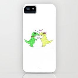 Trex Hugs iPhone Case