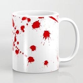 Red Splatter Coffee Mug