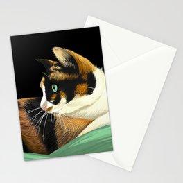 My lovely cat Stationery Cards