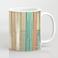 books Mugs featuring Books by Cassia Beck