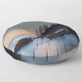 Pewetole Sunset Floor Pillow