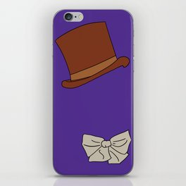 Willy Wonka Silhouette iPhone Skin