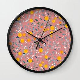 Blorange Wall Clock
