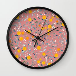 Blorange Wall Clock