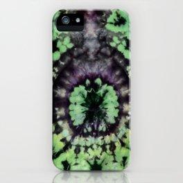 Green Lantern Tie Dye iPhone Case