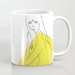 Yellow Portrait 1 Coffee Mug
