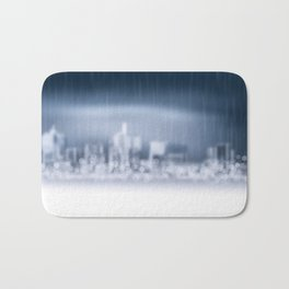 City in Win Bath Mat