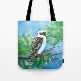 Kookaburra in a Gumtree Tote Bag