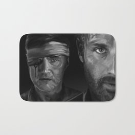 Rick and The Governor Bath Mat