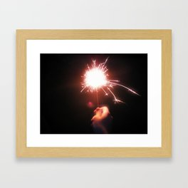 Sparkle On Framed Art Print