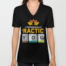 Yoga gift Science Chemistry Gift Unisex V-Neck
